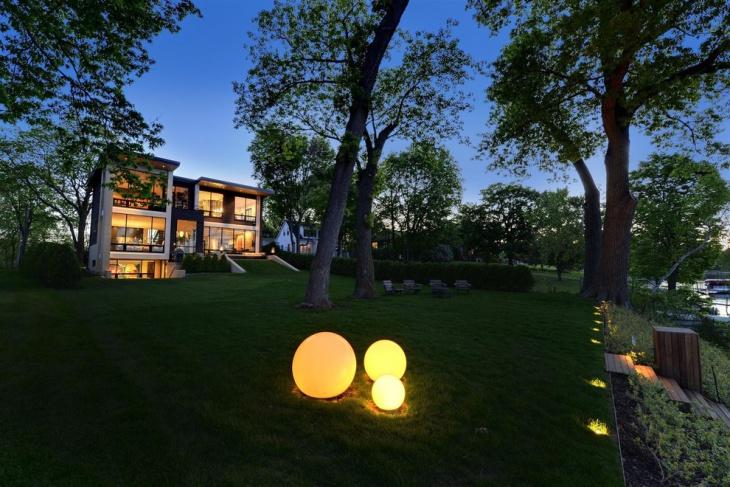 orb garden lights