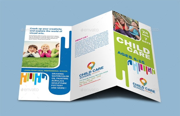 Child Care School Brochure