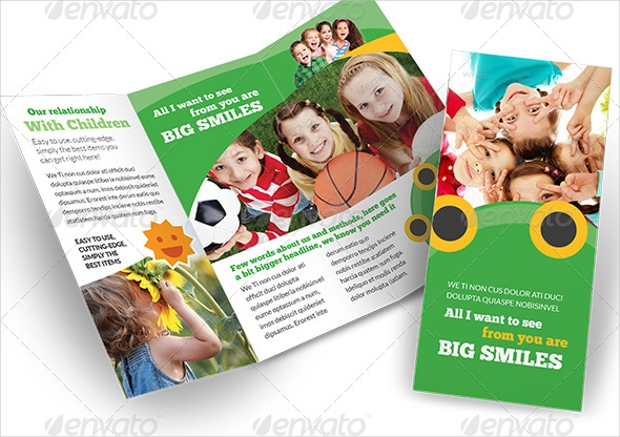 Happy Kids Child Care Brochure