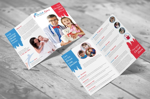 Child Care Bifold Brochure