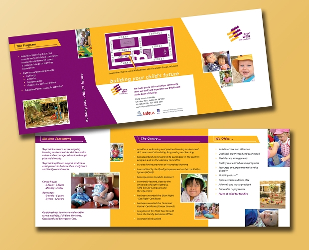 17 child care brochures free psd ai indesign vector for Child care brochure templates free
