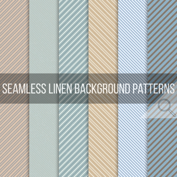 Seamless Stripe Grunge Patterns