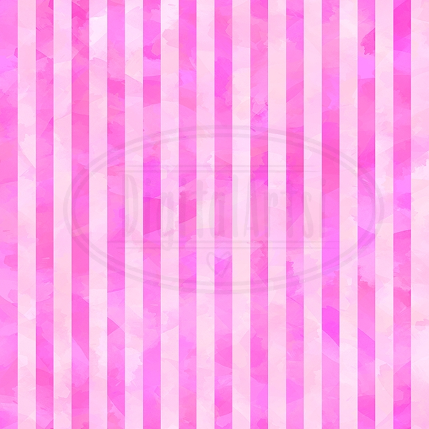 Watercolor Seamless Stripe Pattern