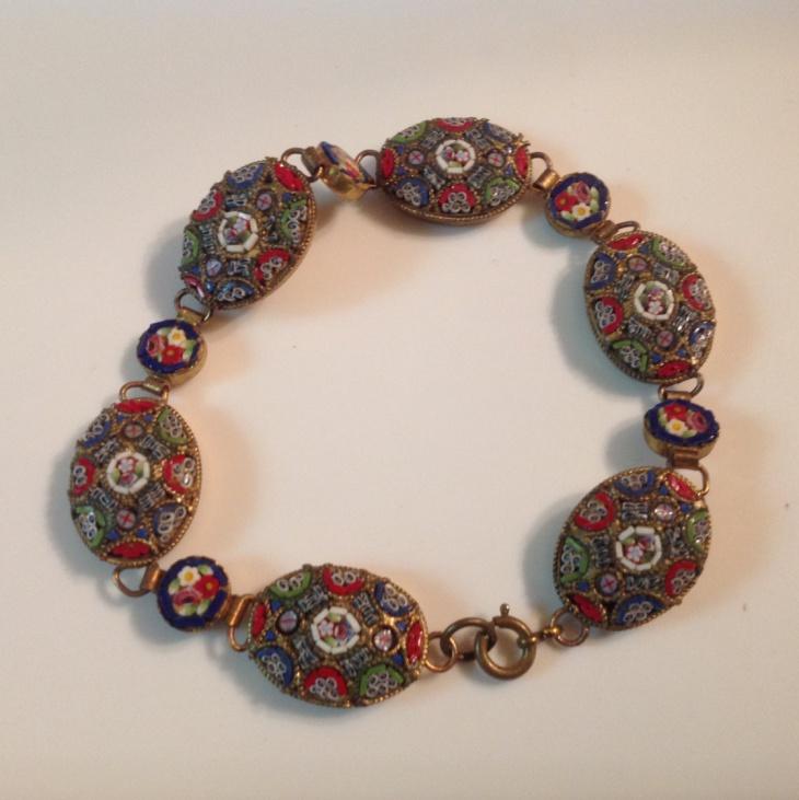 italian mosaic jewelry bracelet