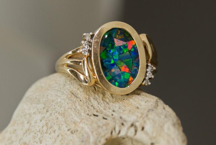 diamond mosaic jewelry