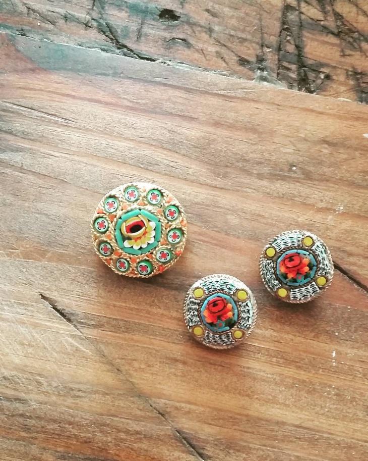 vintage mosaic jewelry
