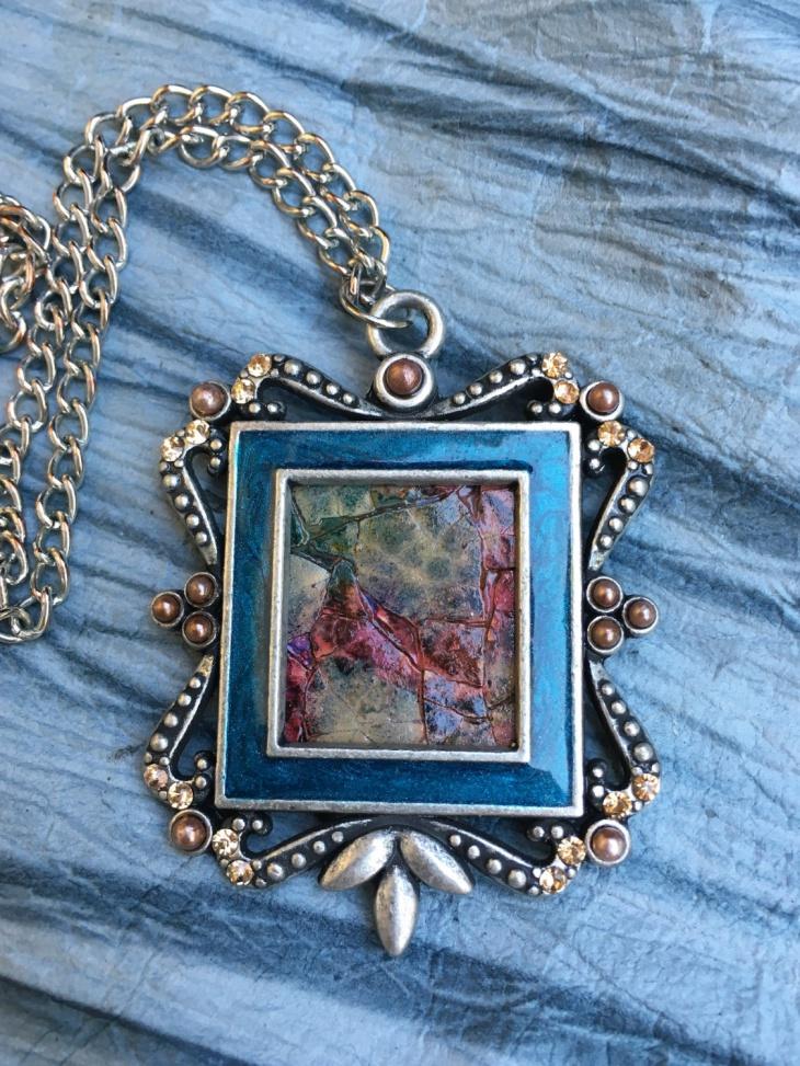 steampunk mosaic jewelry