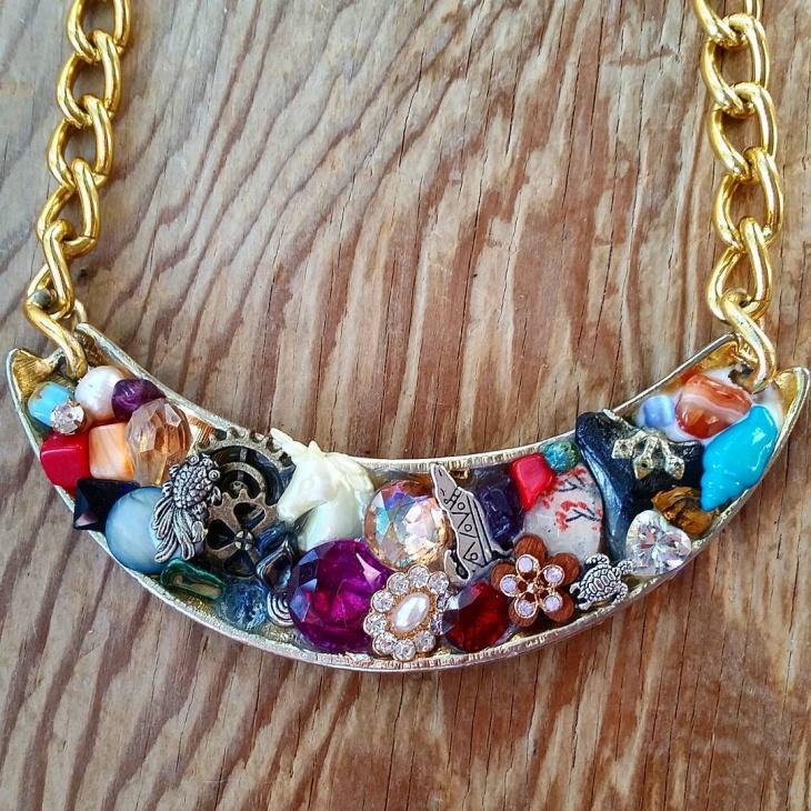 diy mosaic jewelry