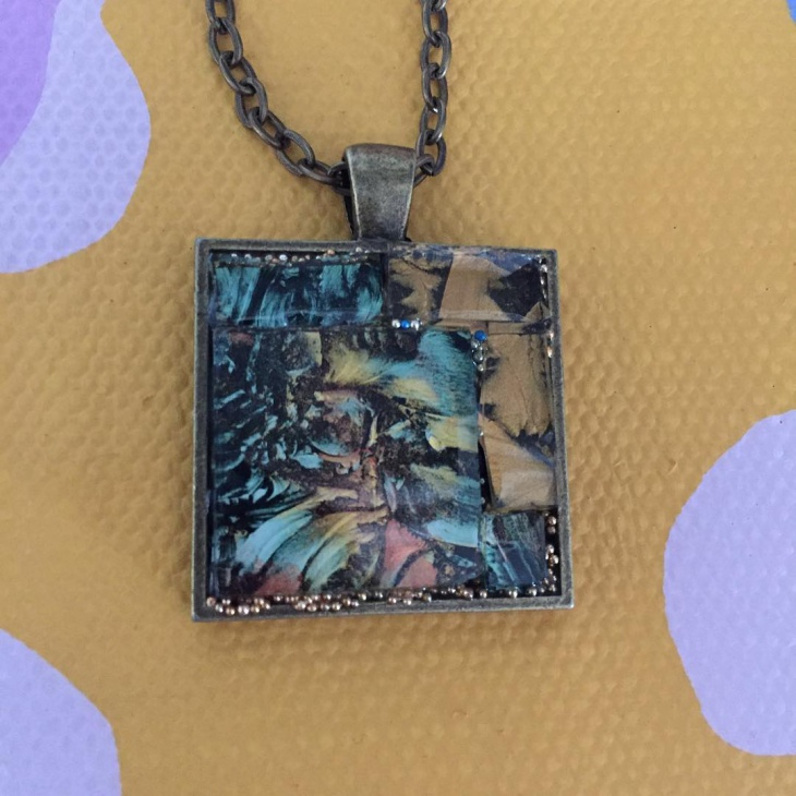 mosaic pendant jewelry