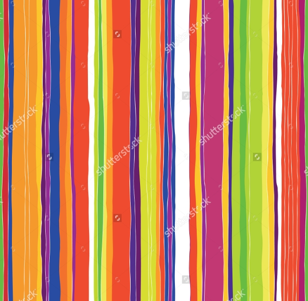 Colorful Stripes Pattern