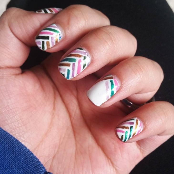 One Nail Art Design