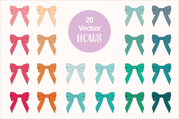 Ribbon Bow Vector