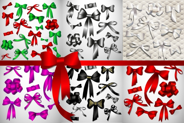 Vector Bow PNG Ilustrations