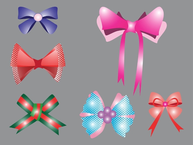 High Quality Bows Vector