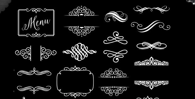 Decorative Vector Ornament Elements