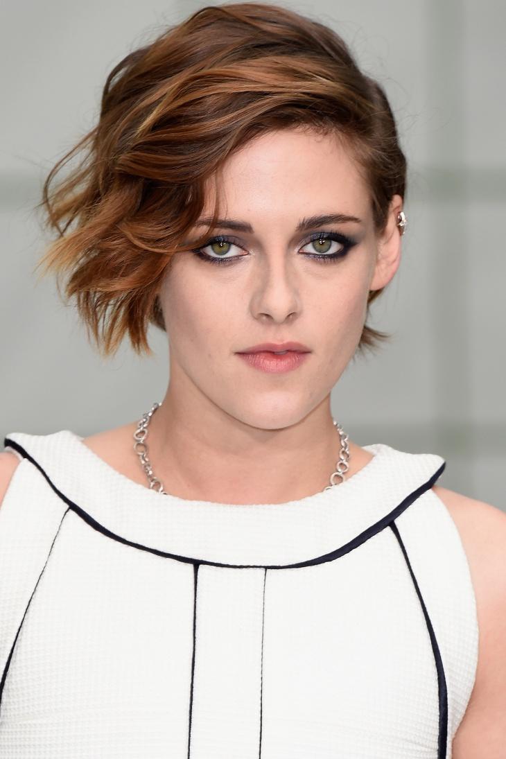 Kristen Stewart Trendy Pixie Haircut