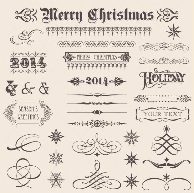Christmas Vector Ornaments