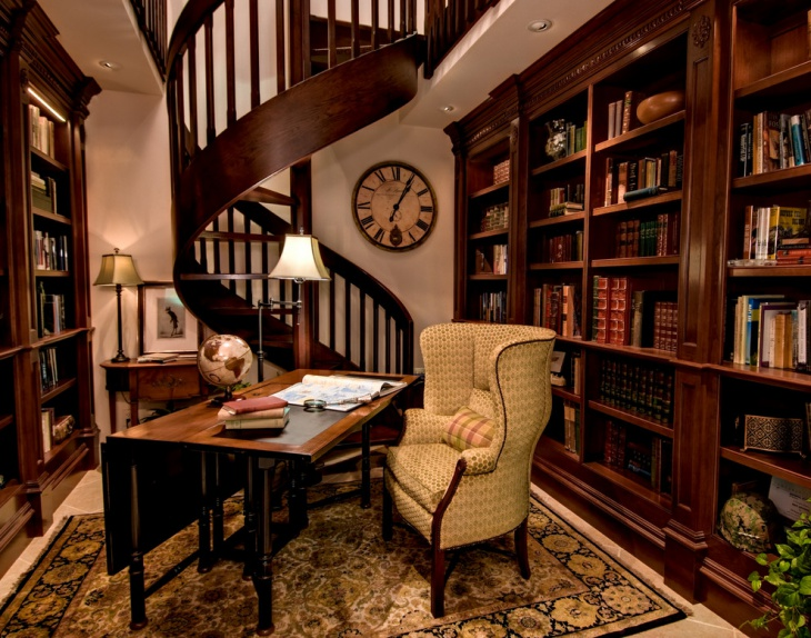 small library interior design
