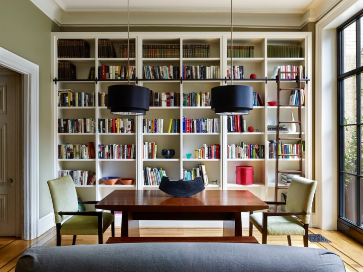 home library bookcases idea