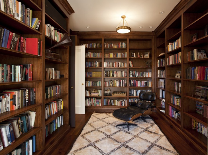 Private Library Interior Design
