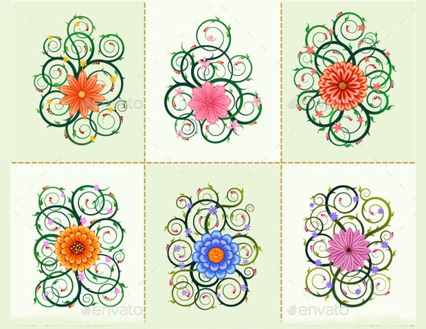 Floral Ornament Vectors