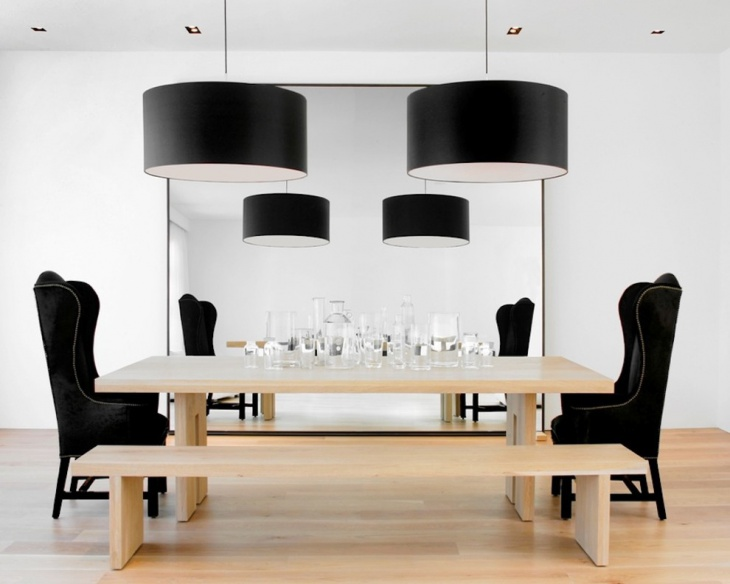 Black Dining Room Pendent Light