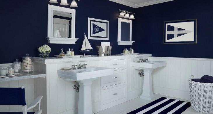 Nautical Bathroom Designs & 17+ Nautical Bathroom Designs Ideas | Design Trends - Premium PSD ...