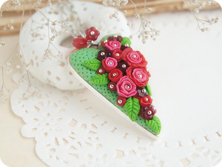 Floral Love Pendant