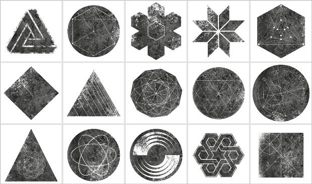 Geometric Mask Texture
