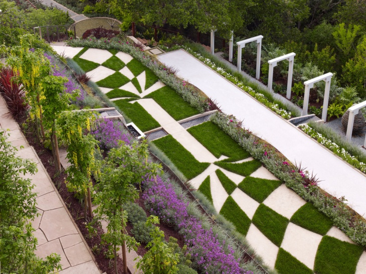 Minecraft Garden Floor