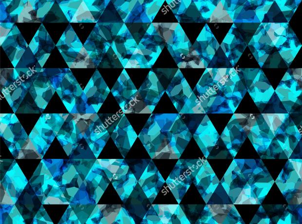 Blue Geometric Texture