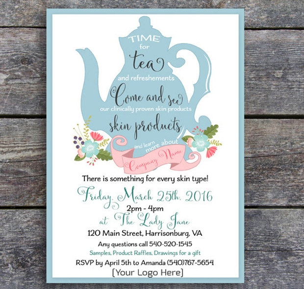 Printable Business Party Invitation