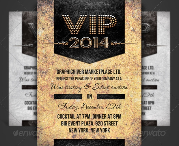 VIP Pass Corporate Event Invitation
