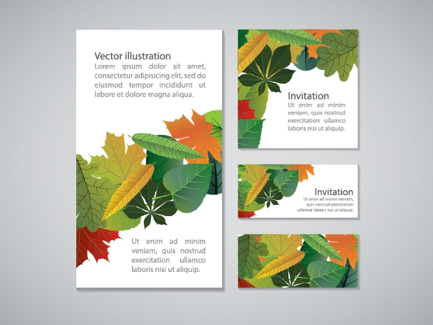 Business Card Invitation Templates