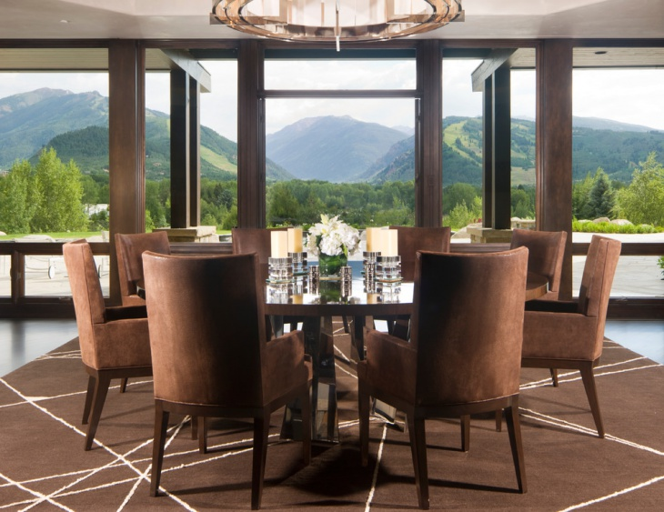Mountain View Round Dining Table