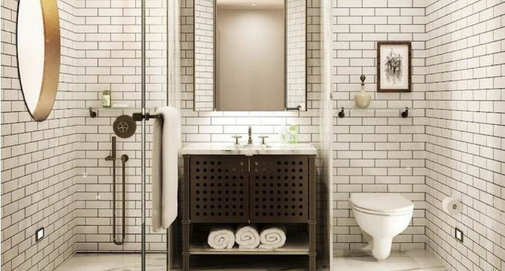 Nice Subway Tile Bathroom Designs