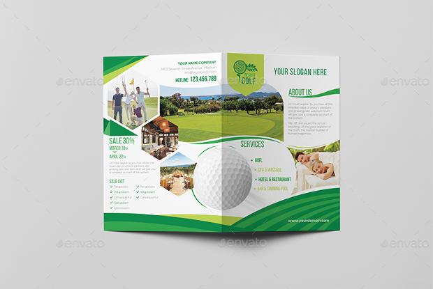 Golf Resort Brochure
