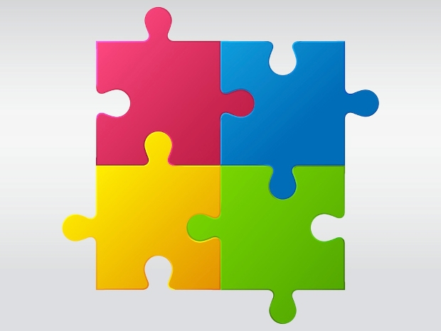 Jigsaw Puzzle Vector Download