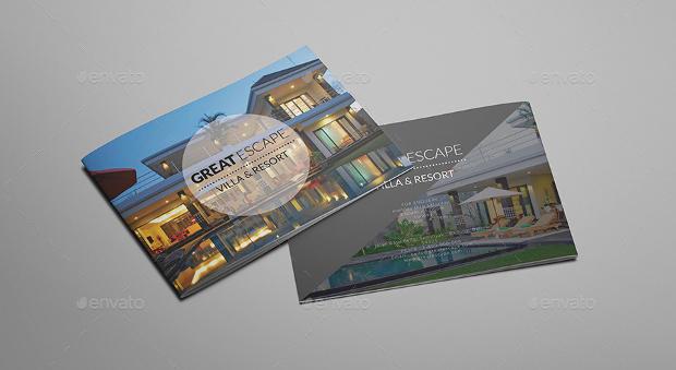 A5 Villa Resort Brochure