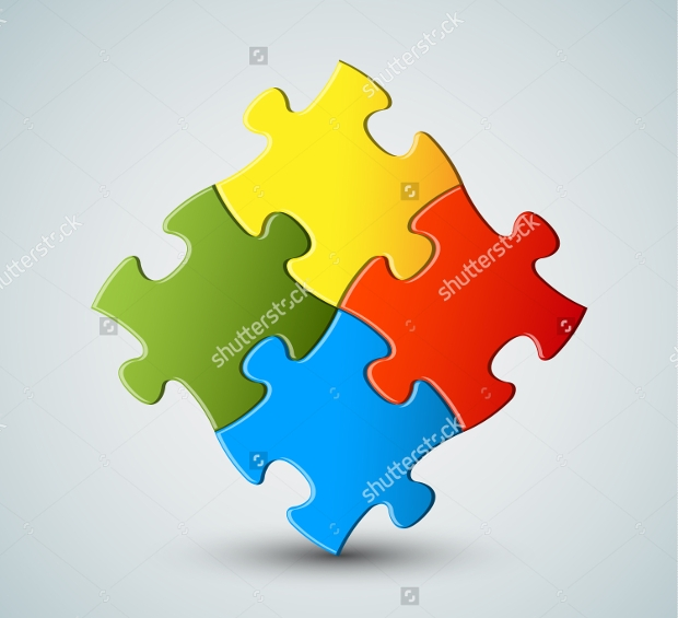 Abstract Vector Puzzle