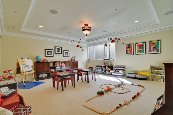 Large Playroom Idea