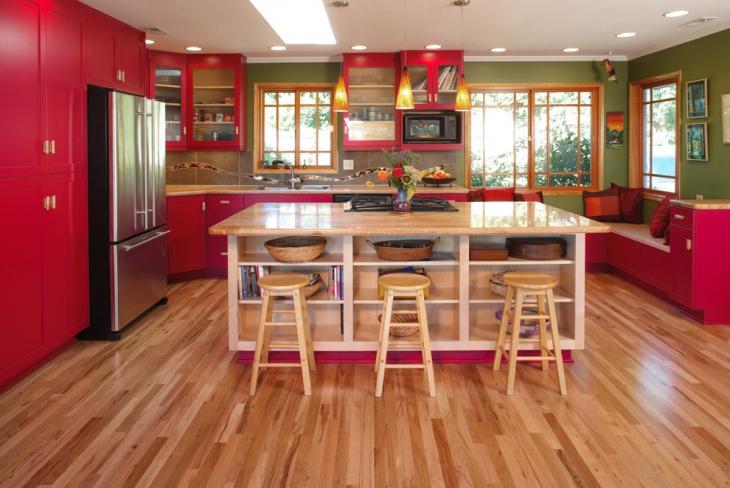 Red Oak Cabinets Desing
