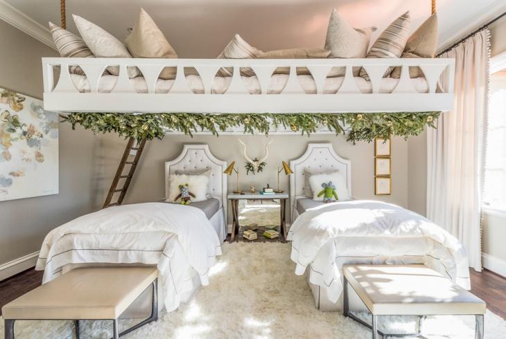 Childrens Treehouse Bedroom Decor