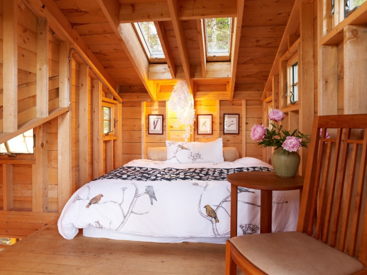 Superieur Interior Treehouse Bedroom Design