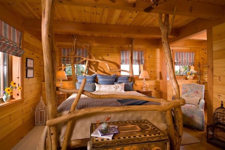 Unique Treehouse bed design