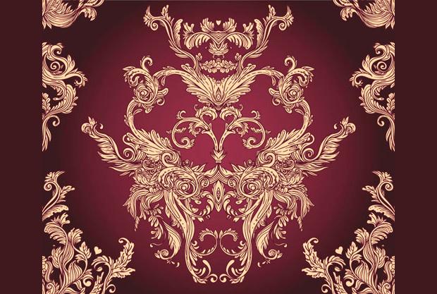 Elegant Classic Floral Pattern