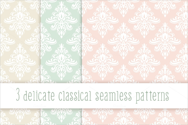 delicate classic seamless pattern