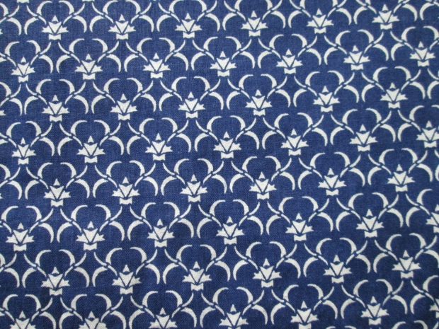 Navy Blue Classic Fabric Pattern Design