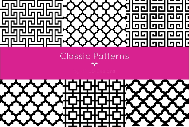 High Quality Classic Patterns