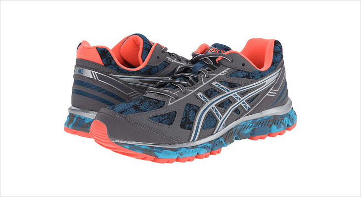asics mosaic running shoes